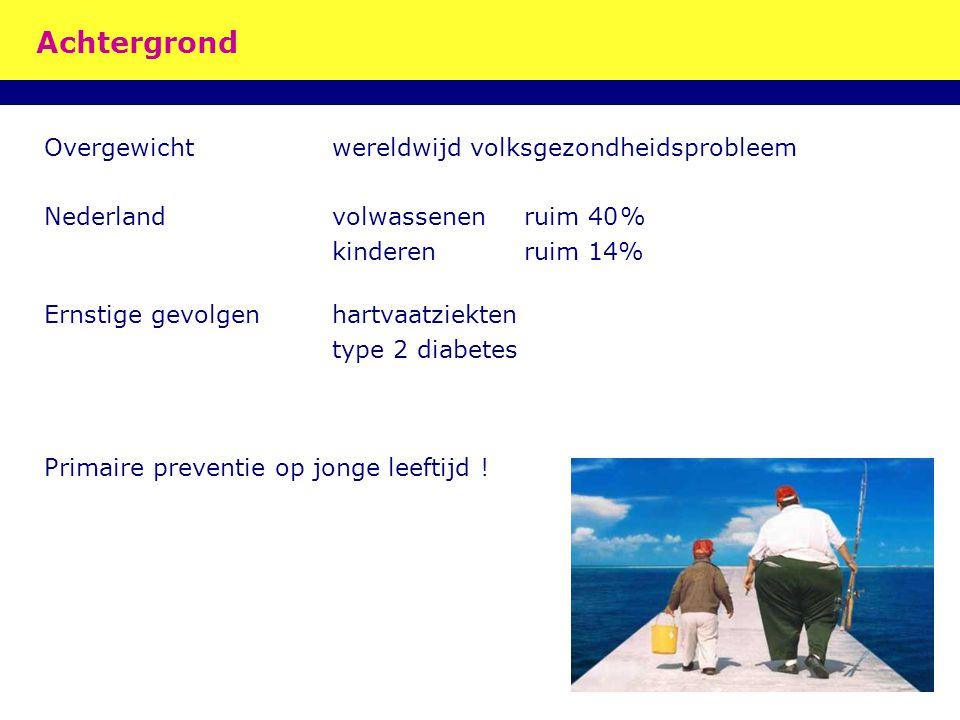 Achtergrond Overgewicht wereldwijd volksgezondheidsprobleem