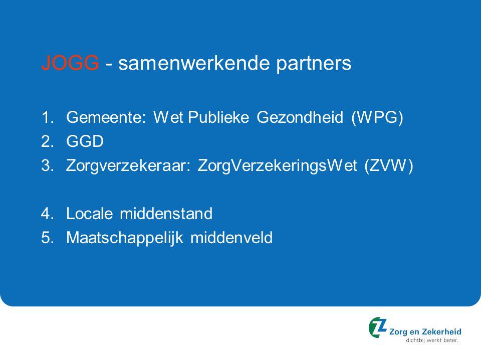 JOGG - samenwerkende partners