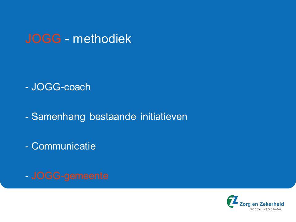 JOGG - methodiek - JOGG-coach - Samenhang bestaande initiatieven
