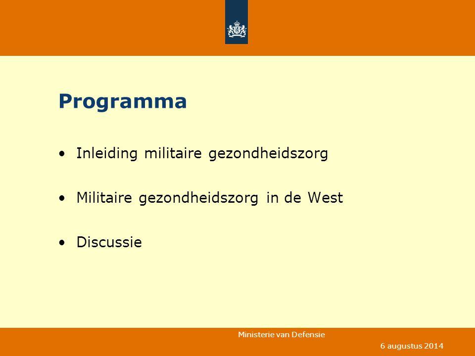 Programma Inleiding militaire gezondheidszorg