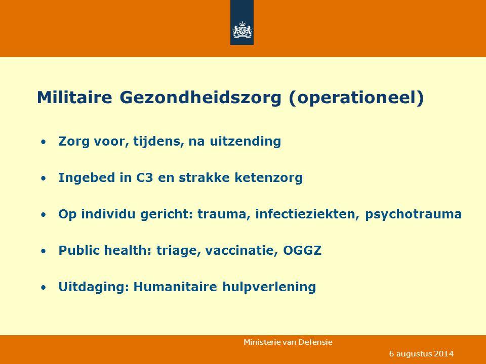 Militaire Gezondheidszorg (operationeel)