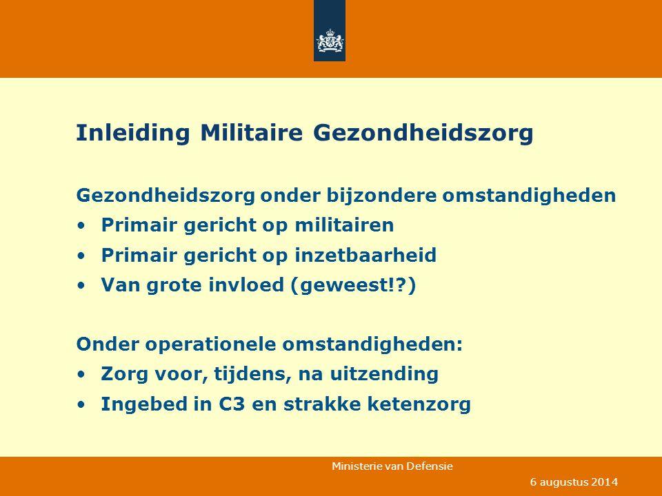 Inleiding Militaire Gezondheidszorg