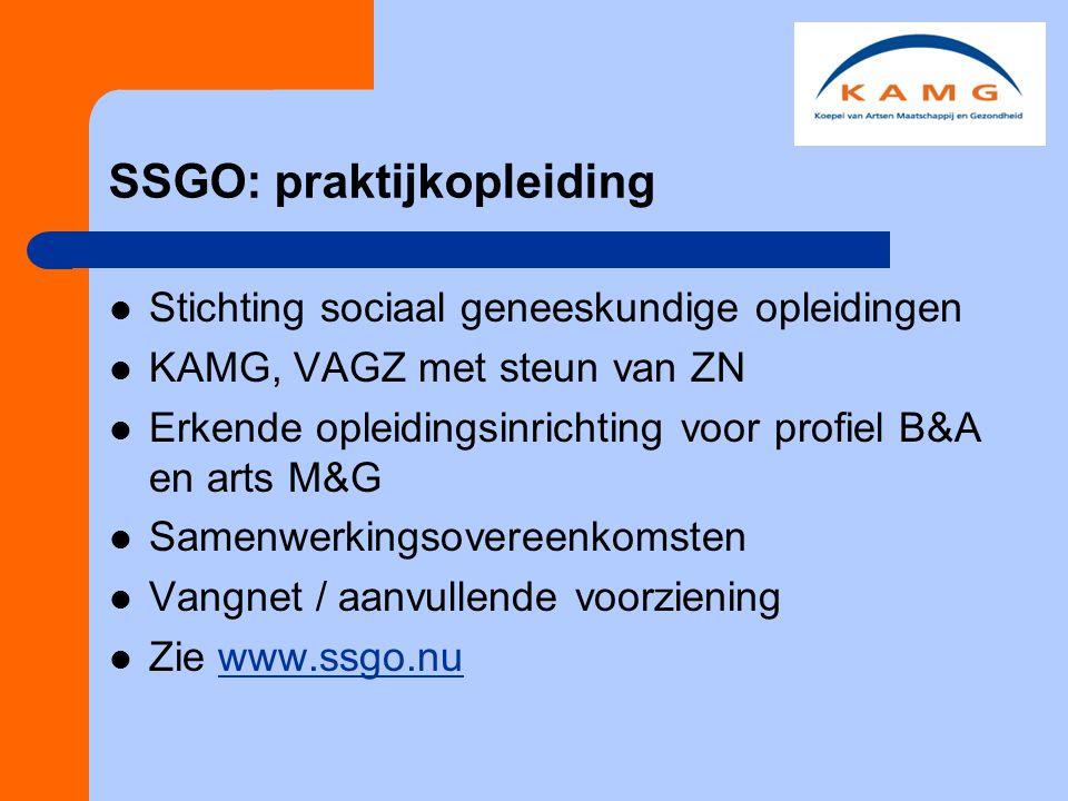 SSGO: praktijkopleiding