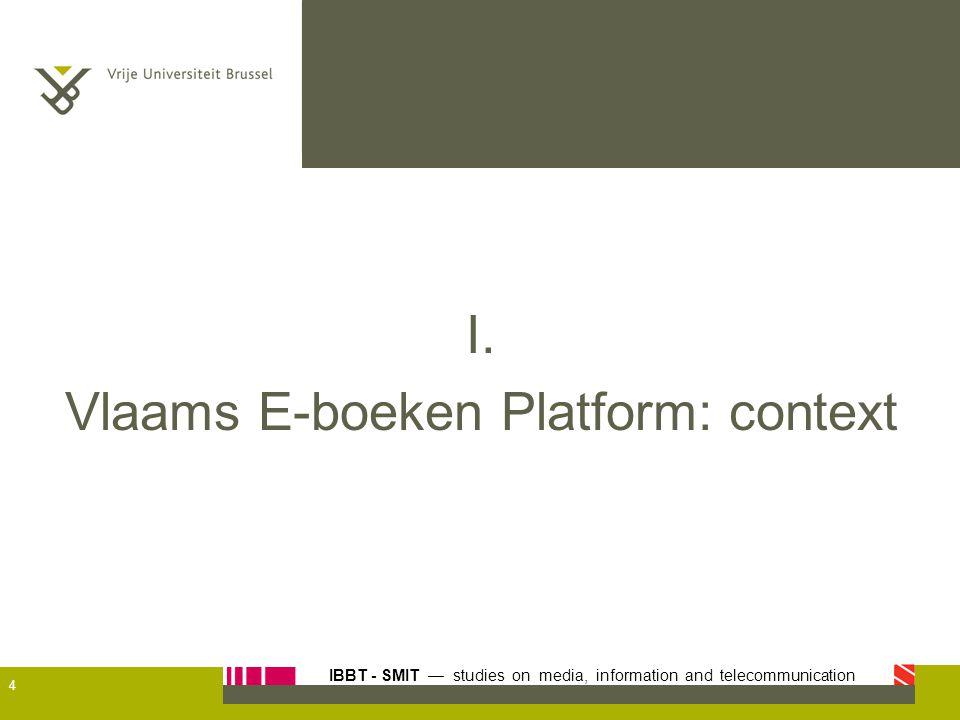 Vlaams E-boeken Platform: context