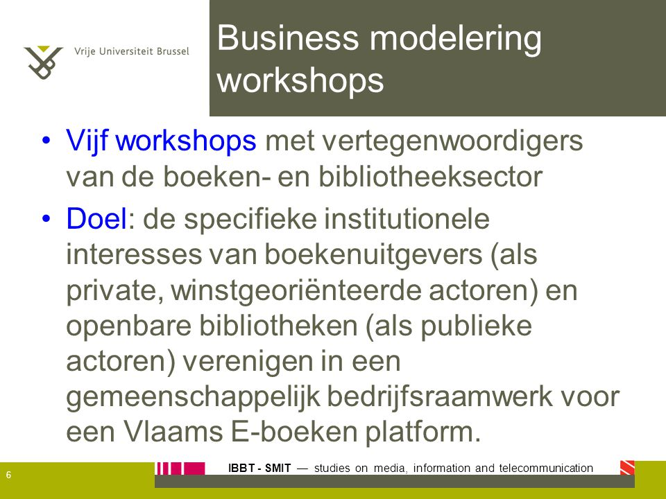 Business modelering workshops