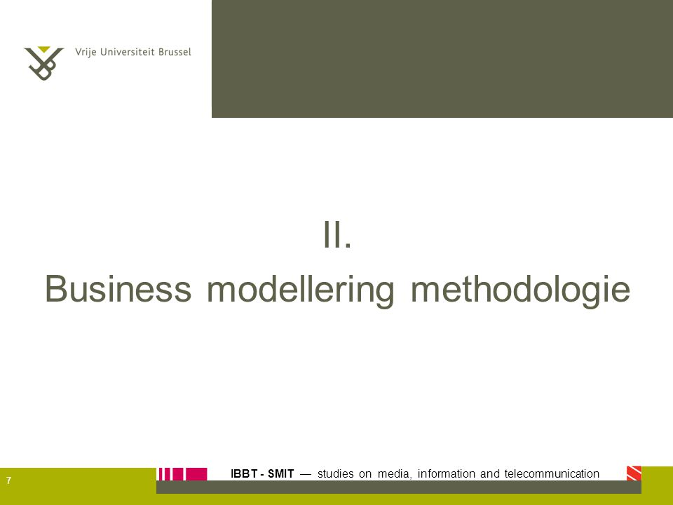 Business modellering methodologie