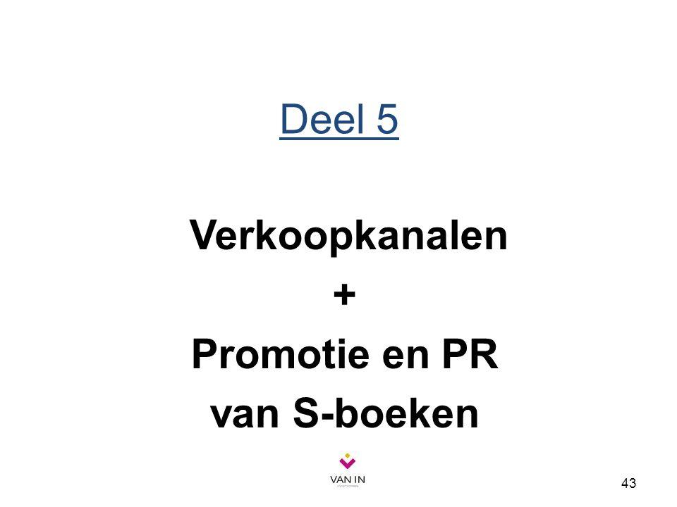 + Promotie en PR van S-boeken