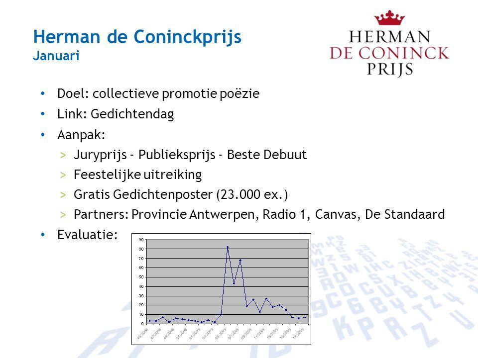 Herman de Coninckprijs Januari