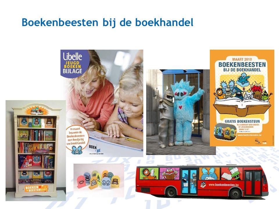 Boekenbeesten bij de boekhandel