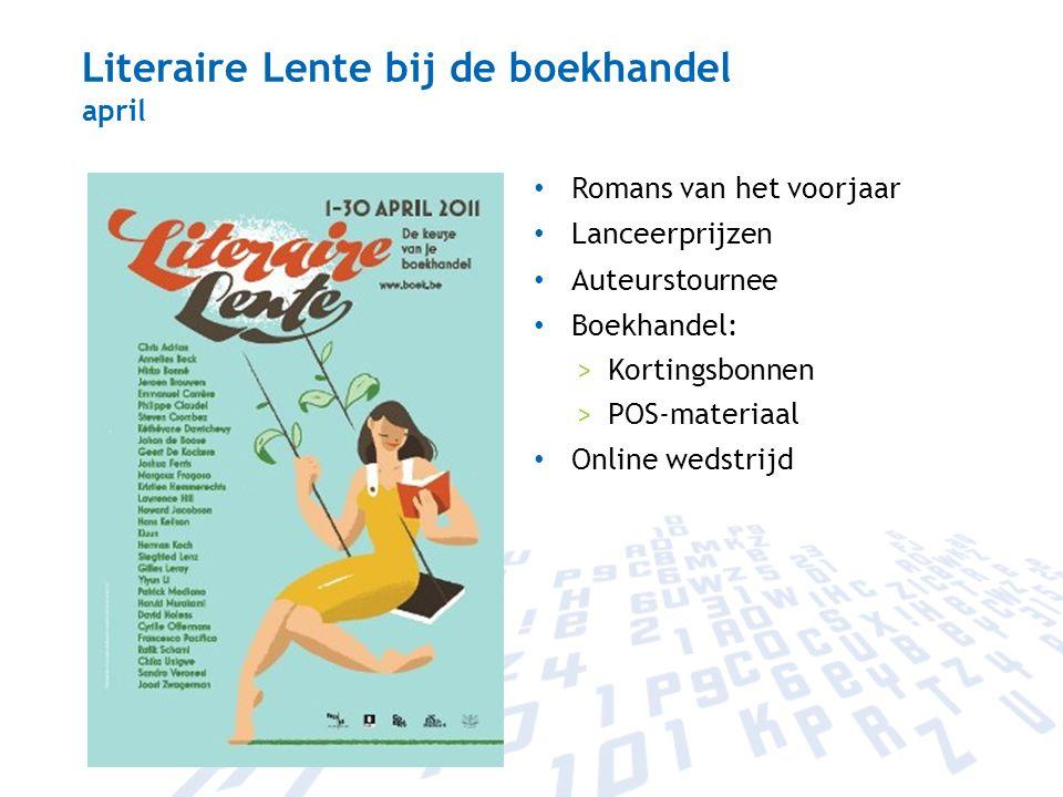 Literaire Lente bij de boekhandel april