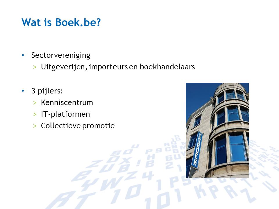 Wat is Boek.be Sectorvereniging