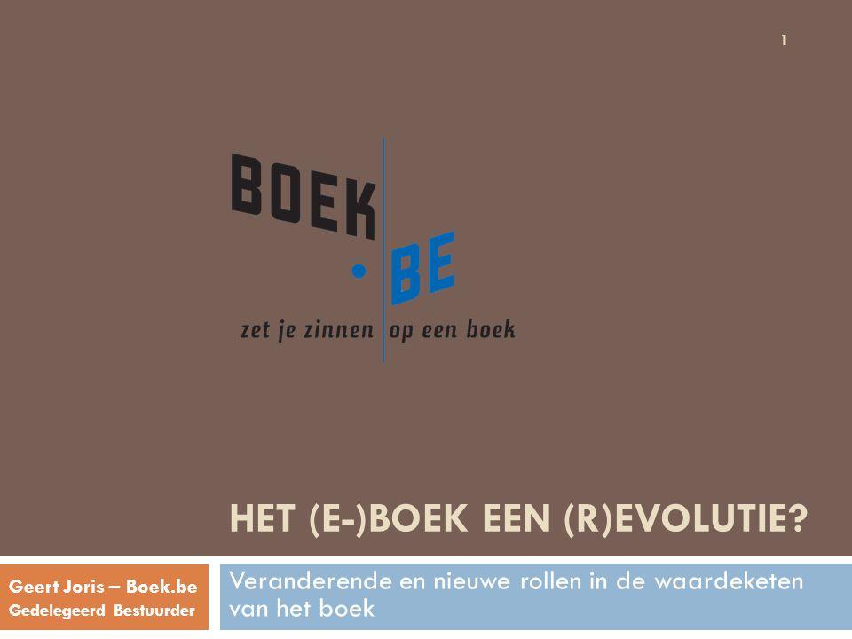 Het (e-)boek Een (r)evolutie