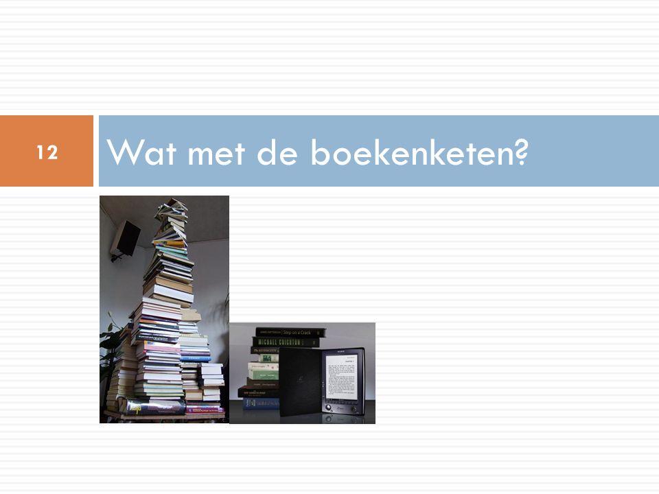 Wat met de boekenketen