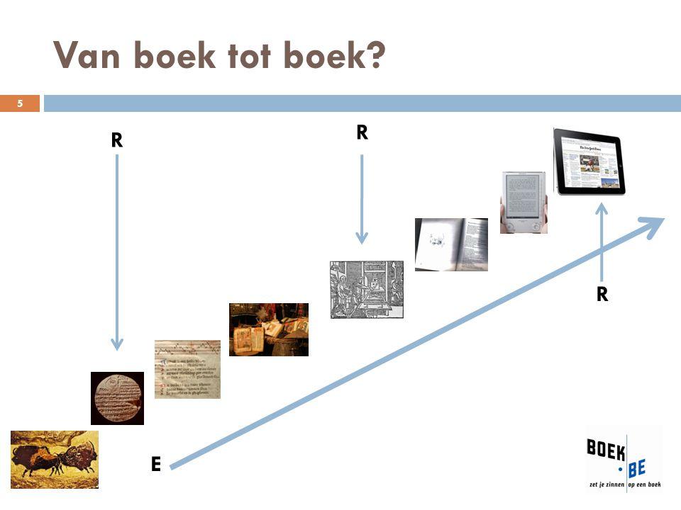 Van boek tot boek R R R E