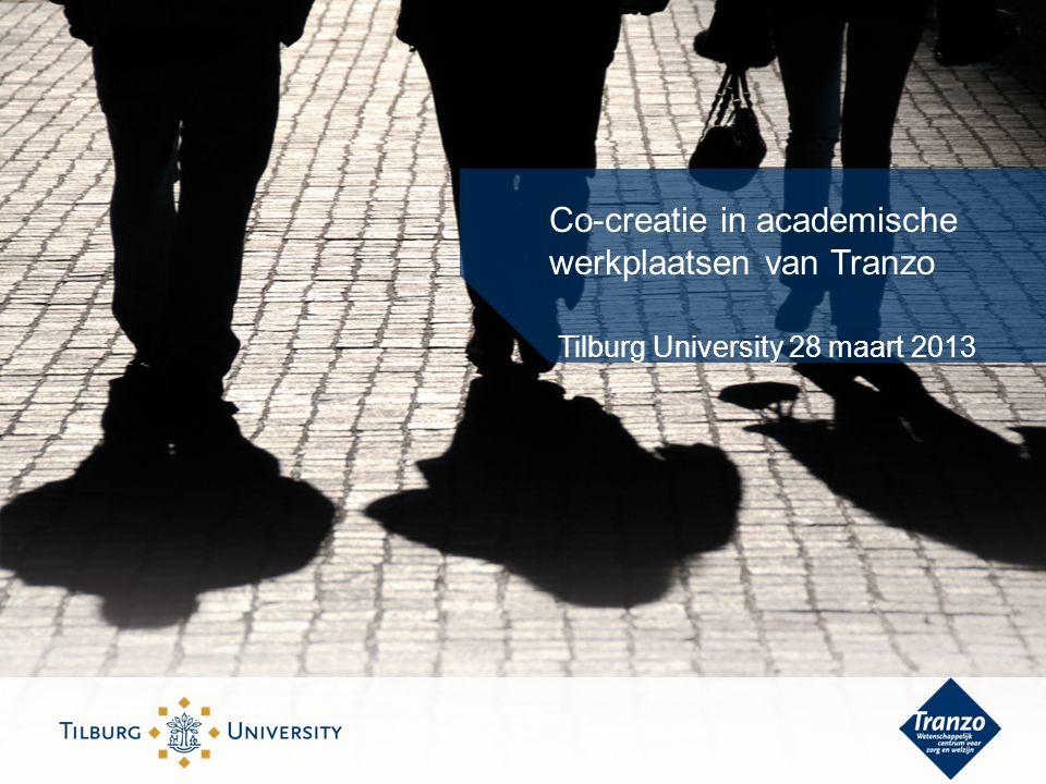 Co-creatie in academische werkplaatsen van Tranzo