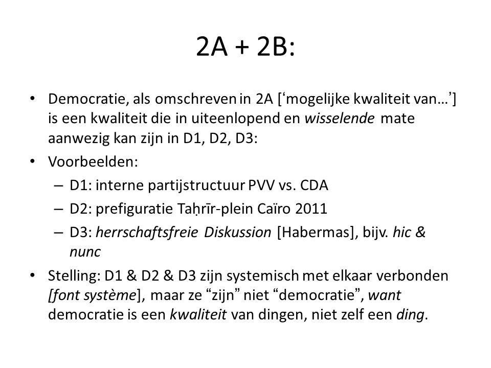 2A + 2B: