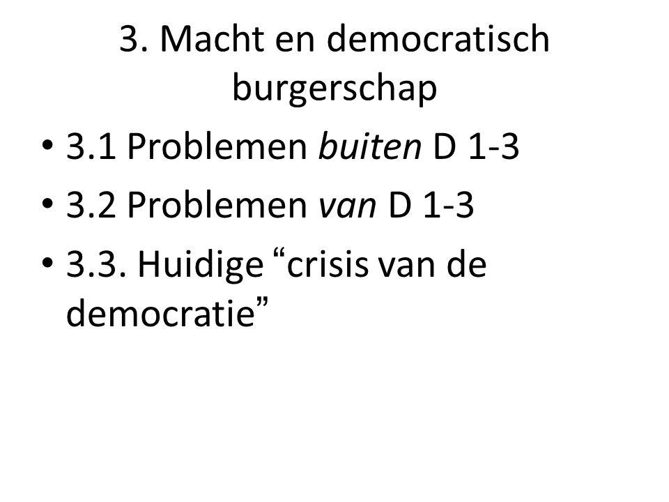 3. Macht en democratisch burgerschap