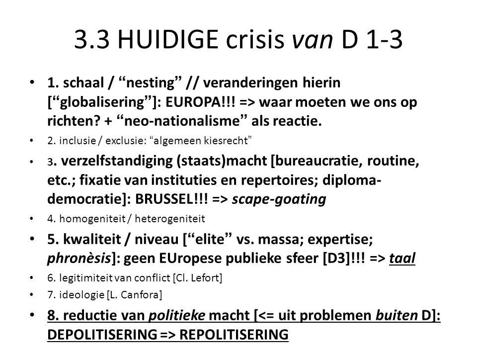 3.3 HUIDIGE crisis van D 1-3