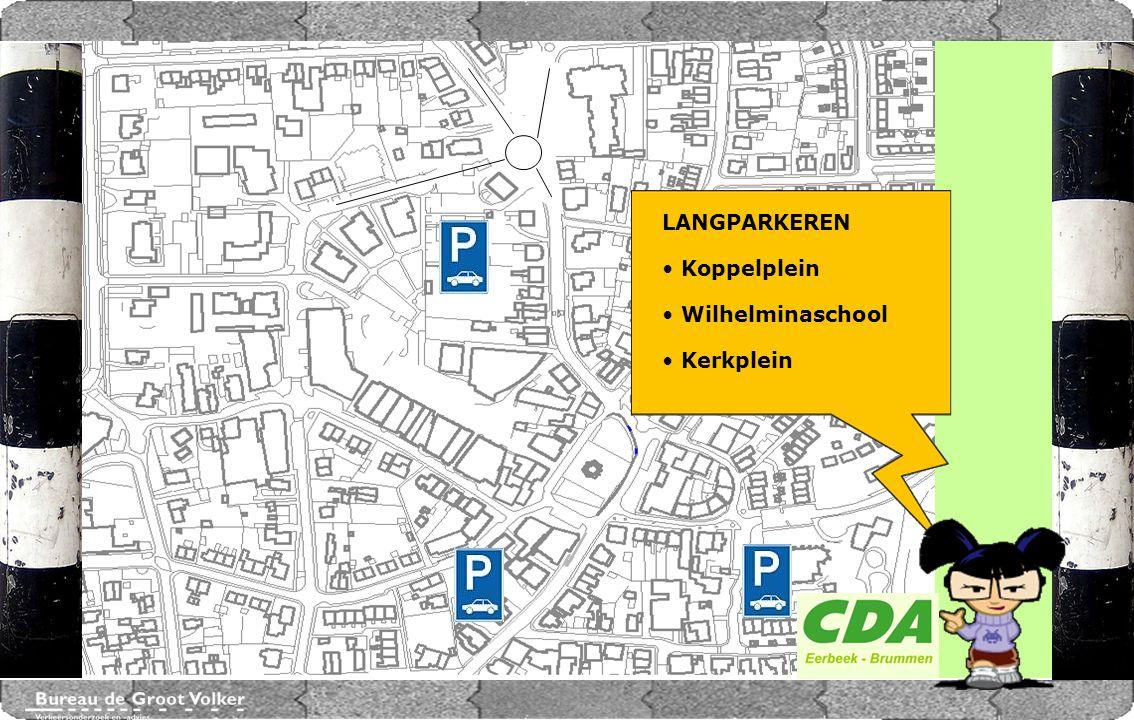 CENTRUMPLAN BRUMMEN LANGPARKEREN Koppelplein Wilhelminaschool