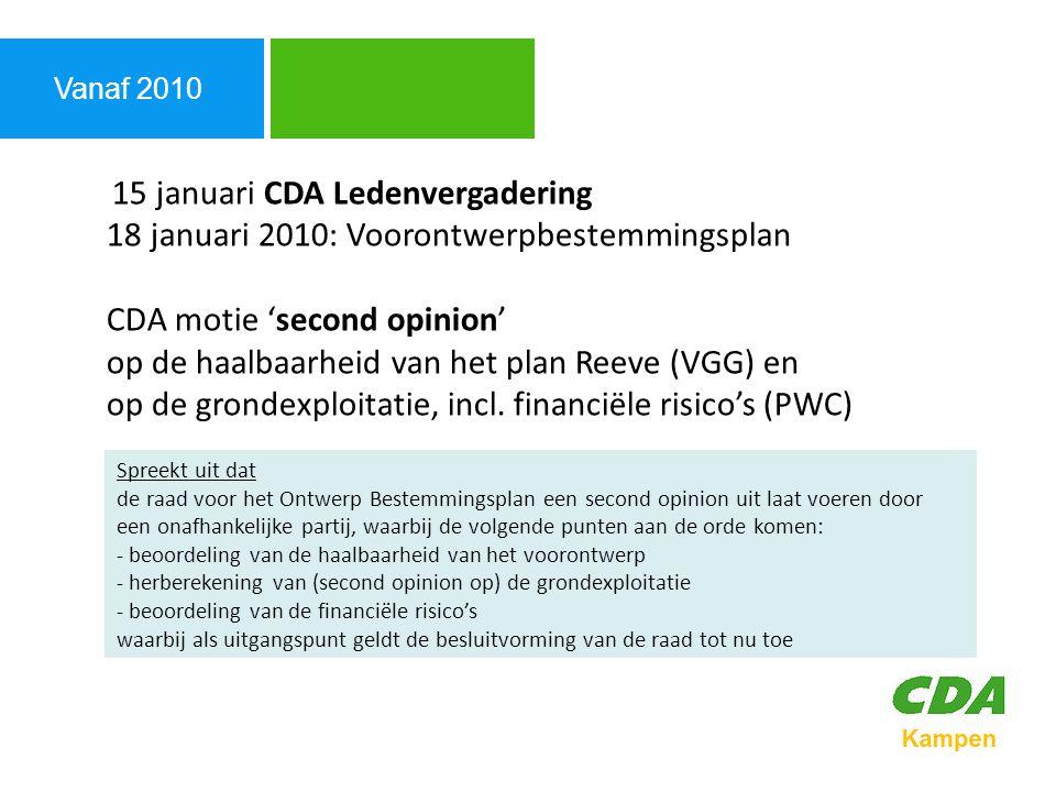 Agenda Vanaf 2010.