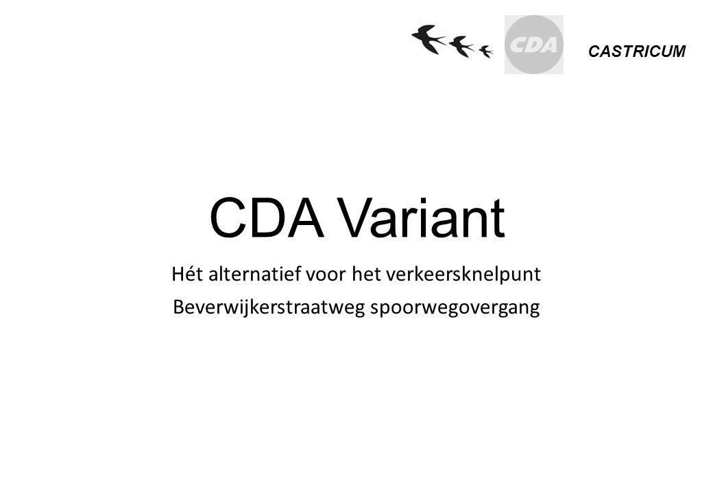 CDA Variant Hét alternatief voor het verkeersknelpunt