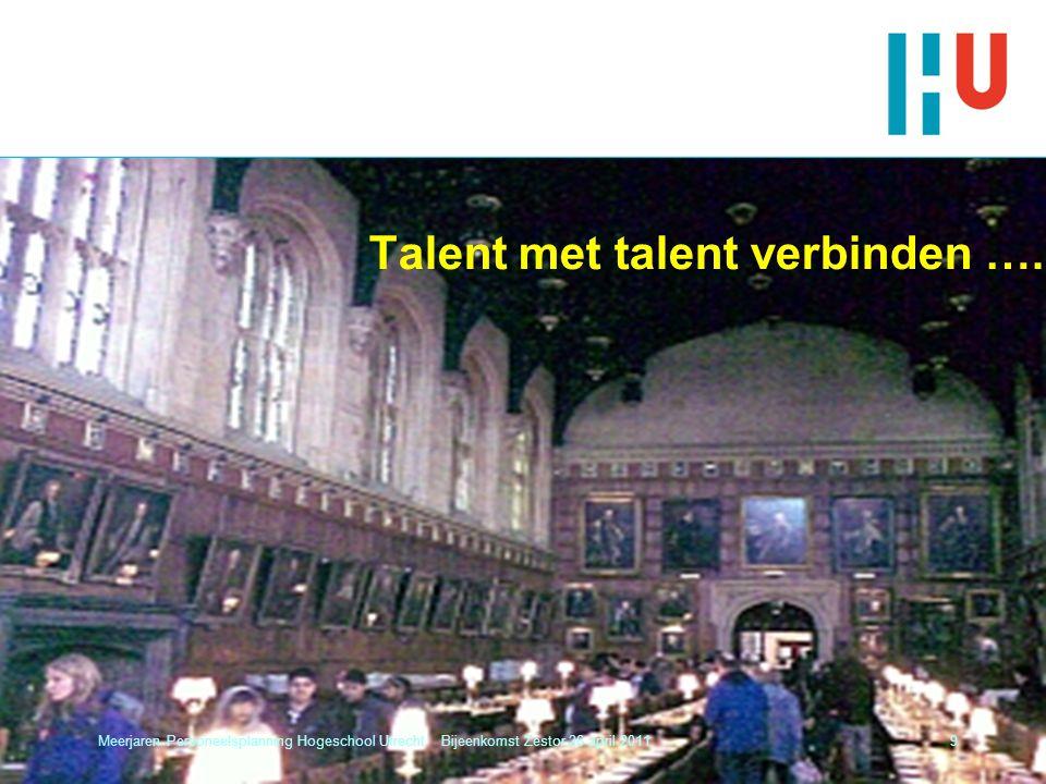 Talent met talent verbinden ….