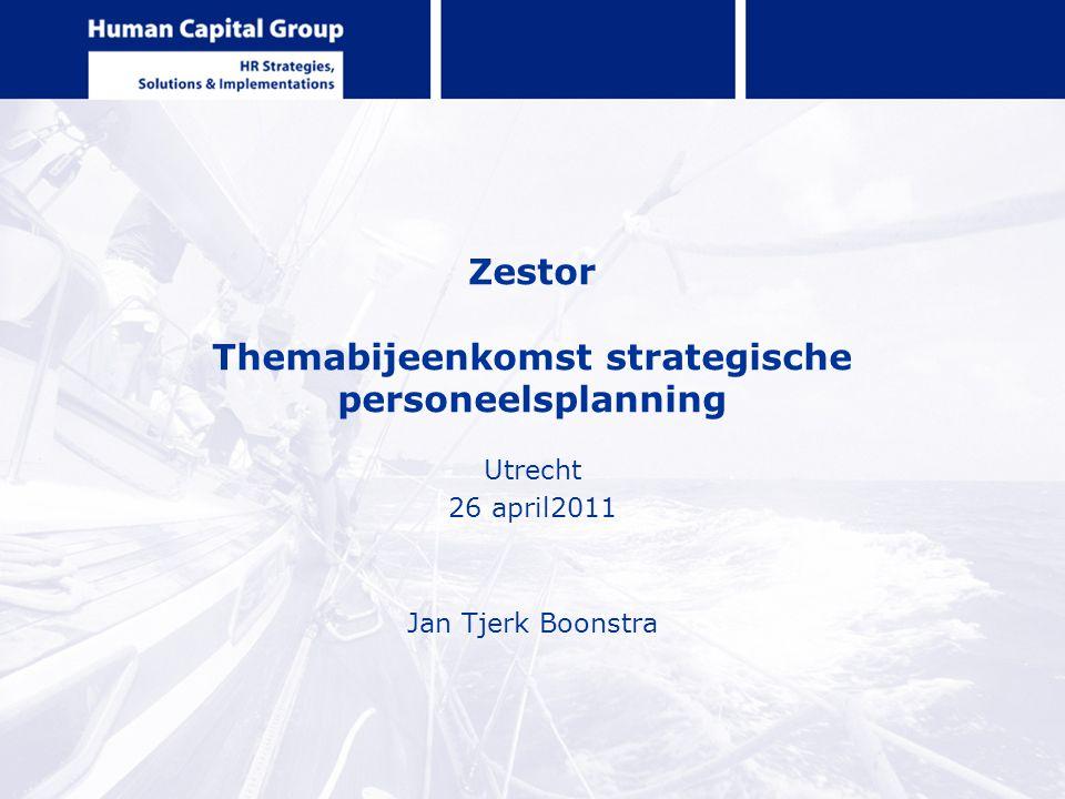 Zestor Themabijeenkomst strategische personeelsplanning