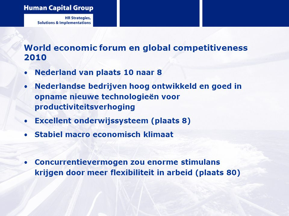 World economic forum en global competitiveness 2010