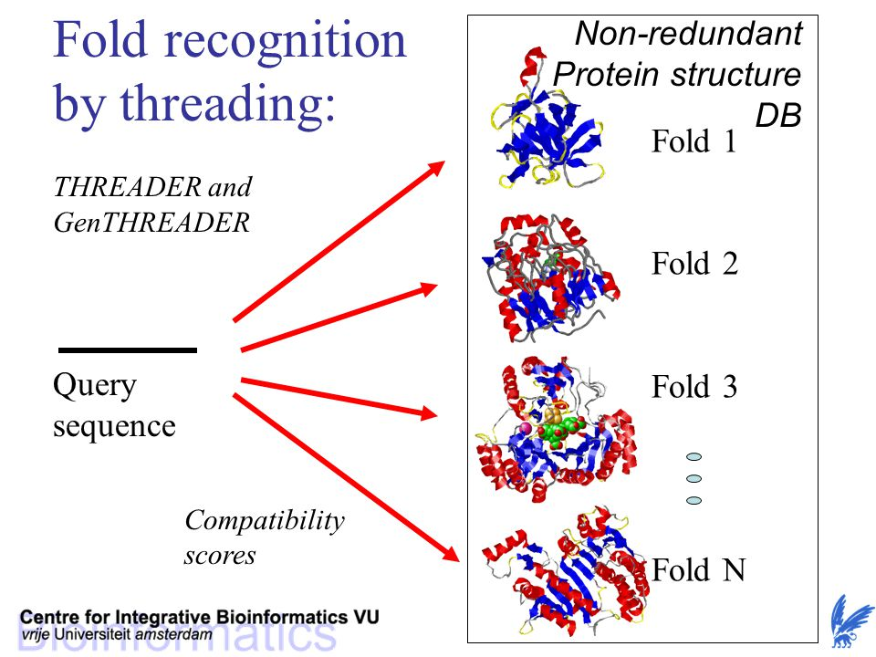 Fold recognition by threading: