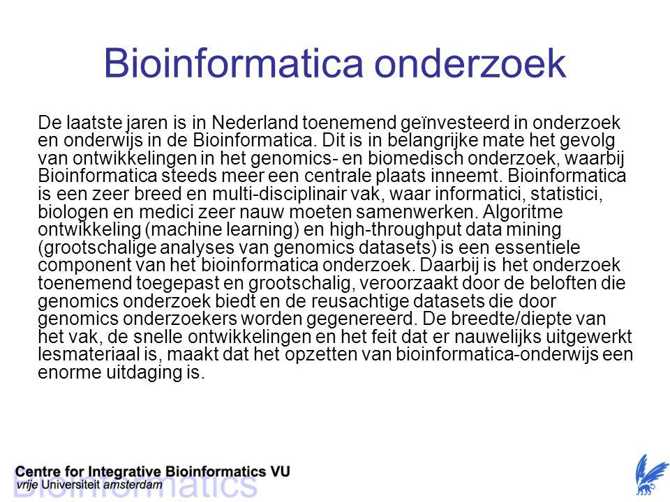 Bioinformatica onderzoek