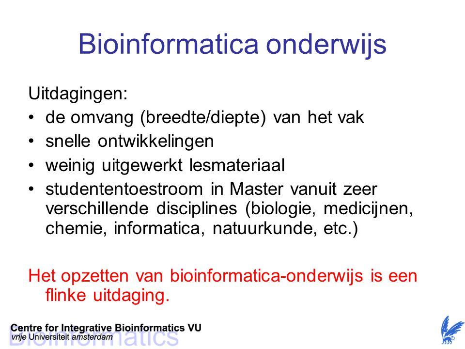 Bioinformatica onderwijs