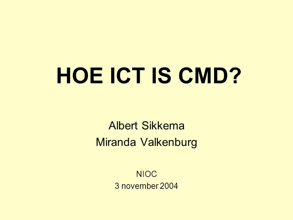 Albert Sikkema Miranda Valkenburg NIOC 3 november 2004