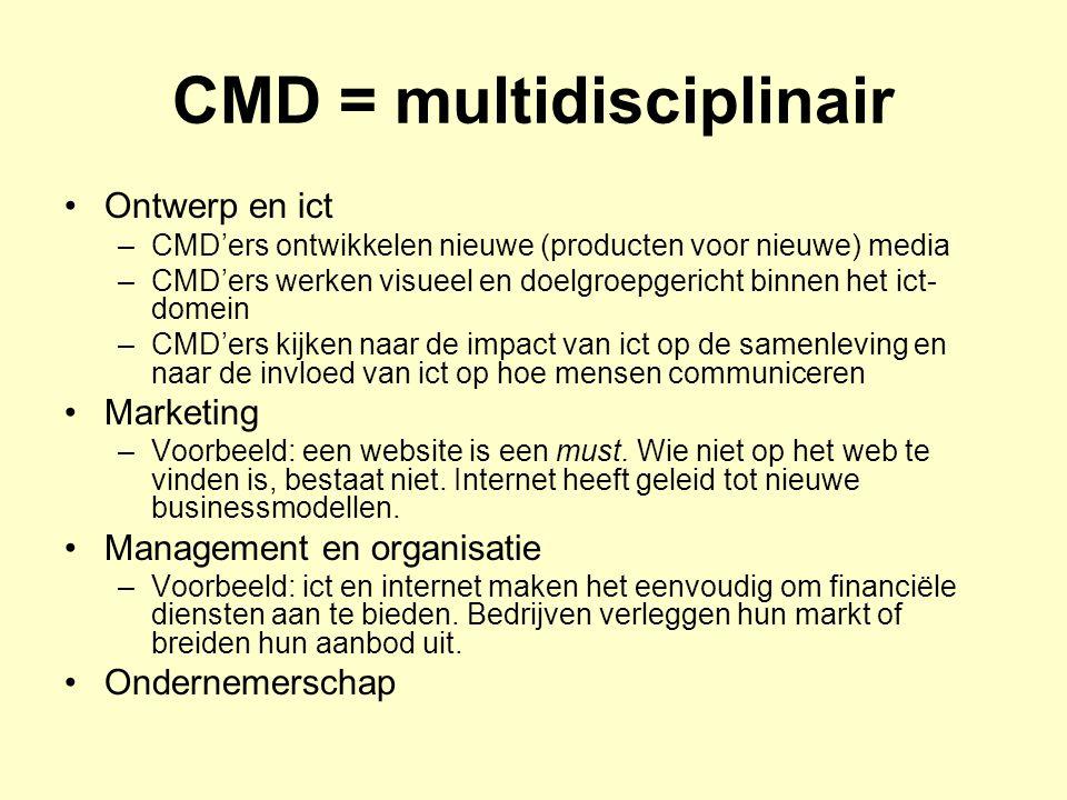 CMD = multidisciplinair
