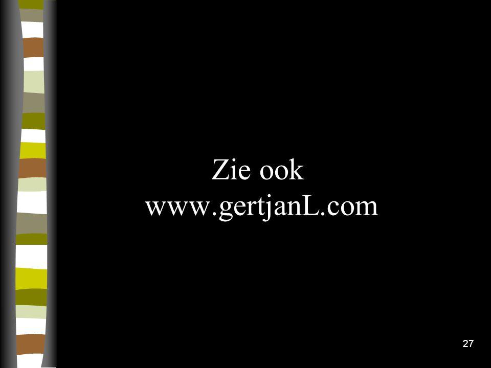 Zie ook www.gertjanL.com