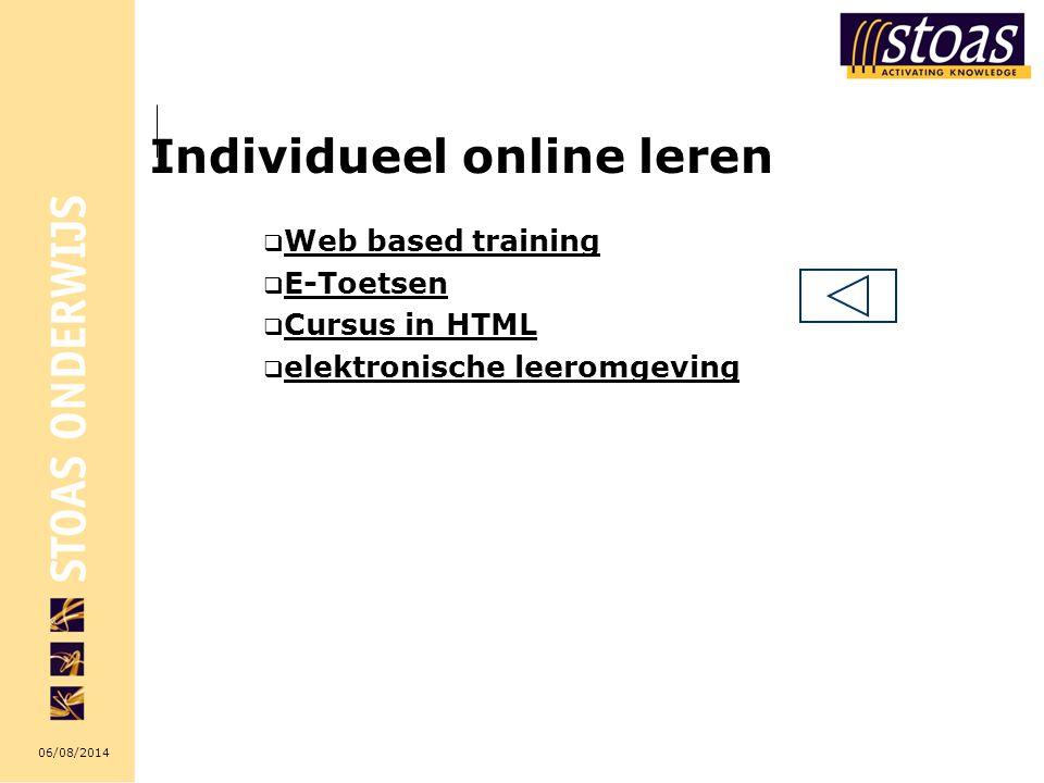 Individueel online leren