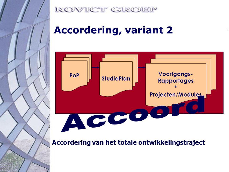 Accoord Accordering, variant 2