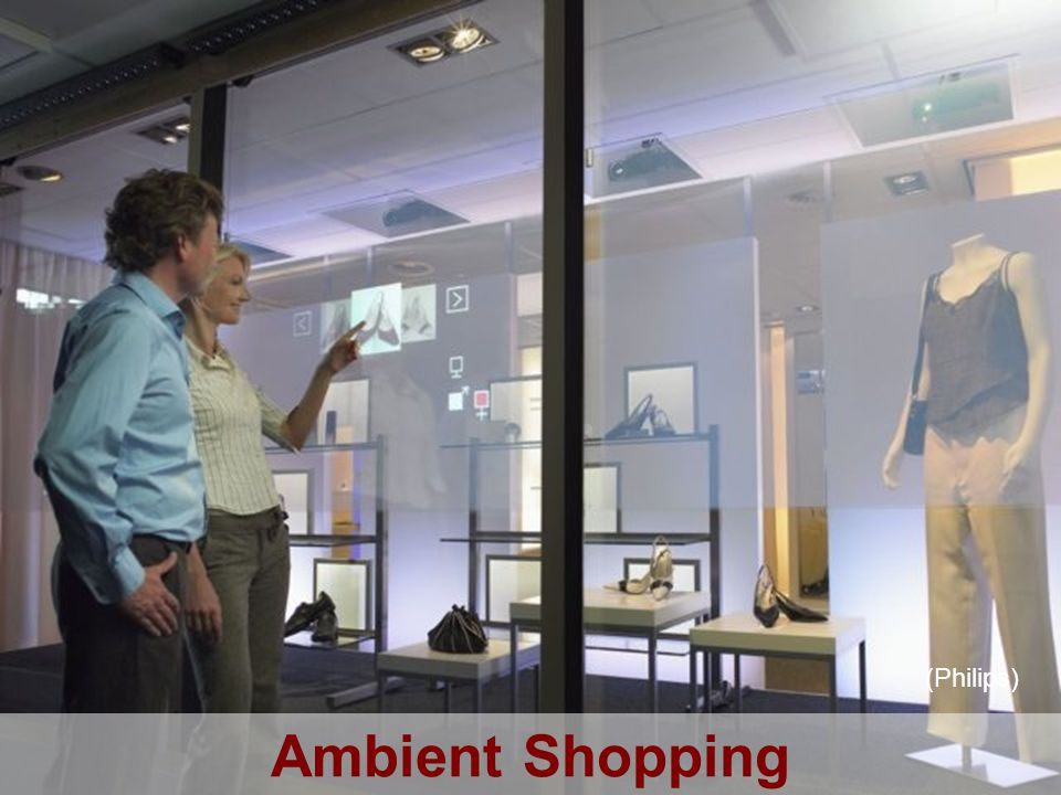 Ambient intelligence Ambient Shopping