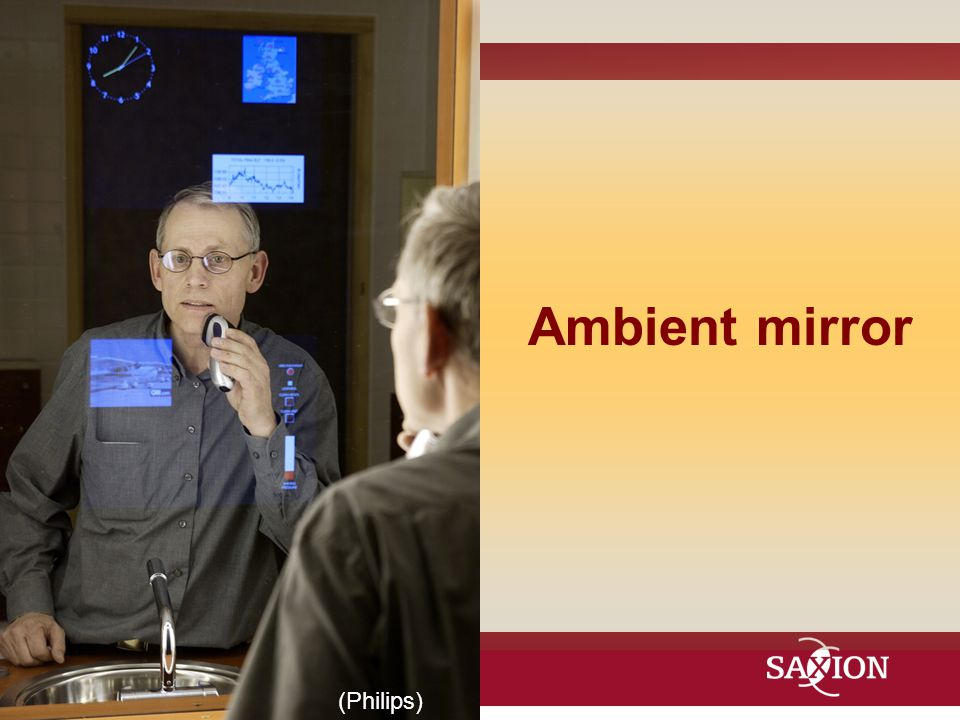 Ambient mirror (Philips)