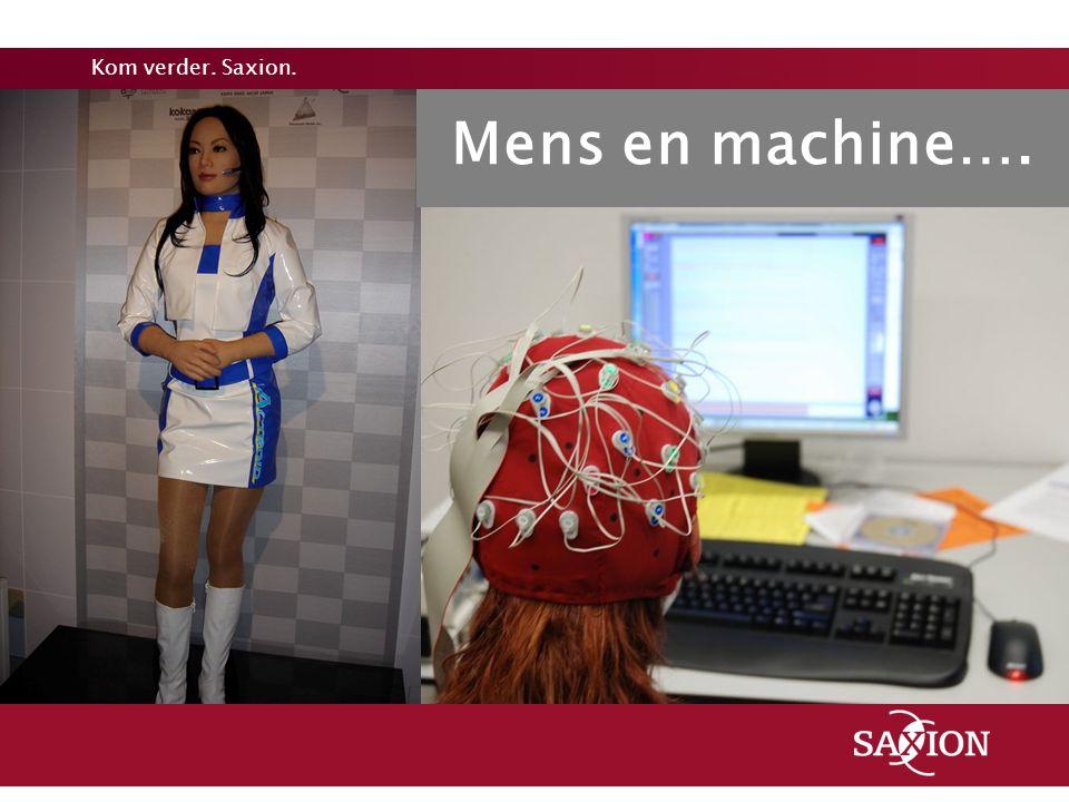 Mens en machine….