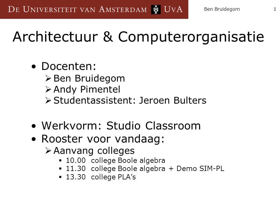 Architectuur & Computerorganisatie