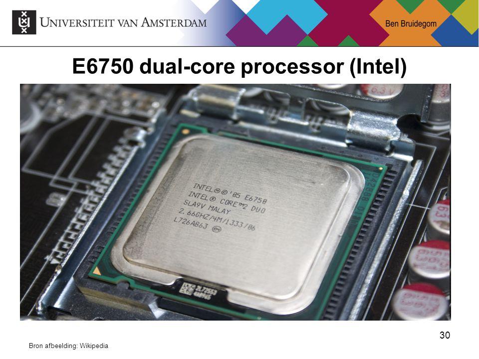 E6750 dual-core processor (Intel)