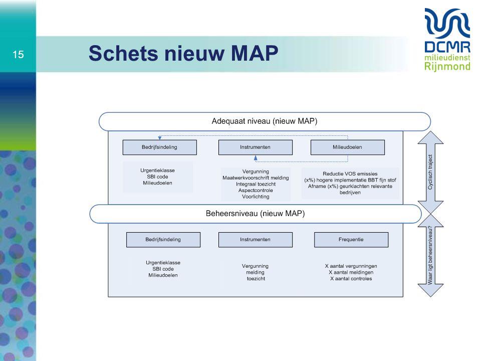 Schets nieuw MAP