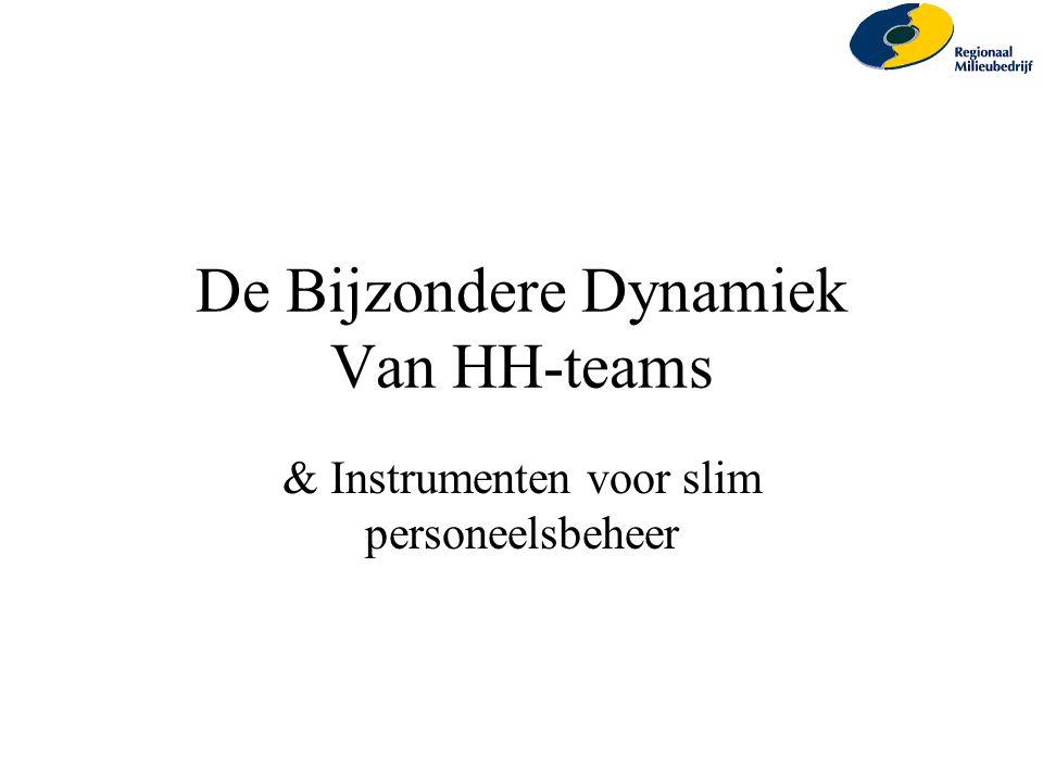 De Bijzondere Dynamiek Van HH-teams
