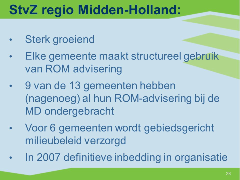 StvZ regio Midden-Holland:
