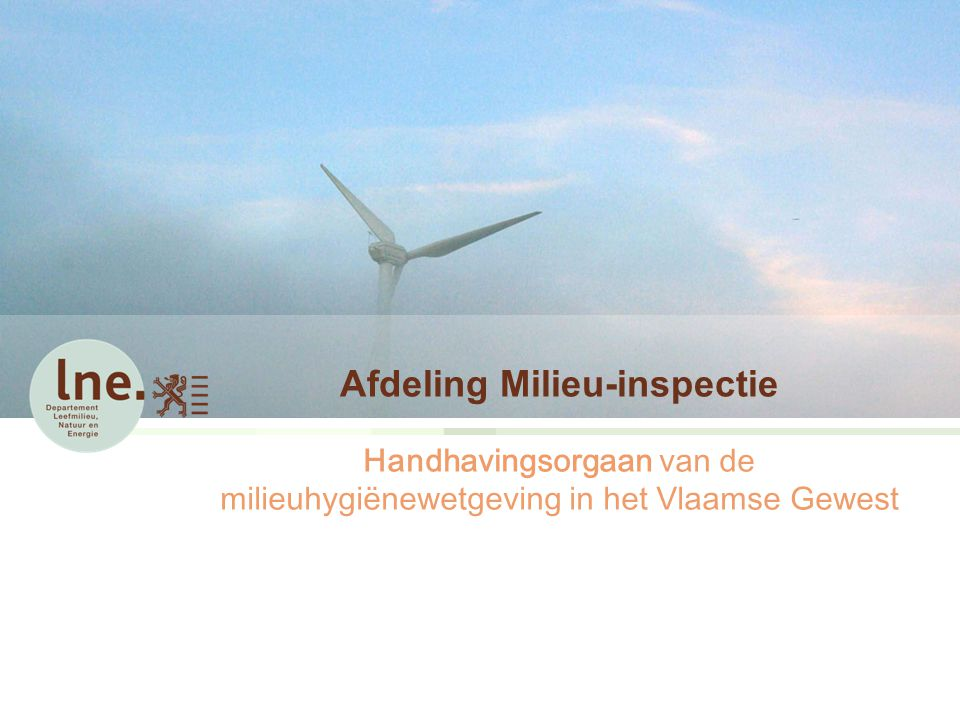Afdeling Milieu-inspectie