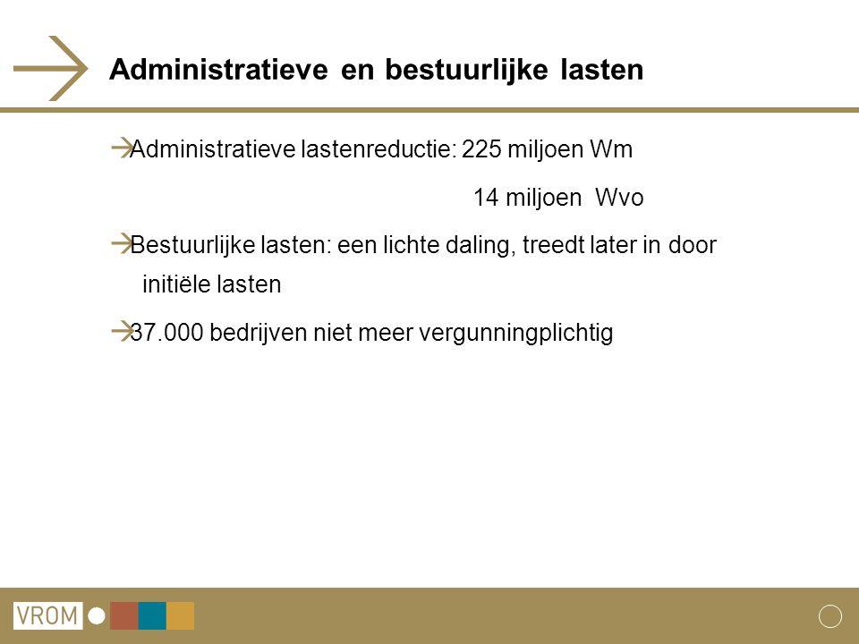 Administratieve en bestuurlijke lasten