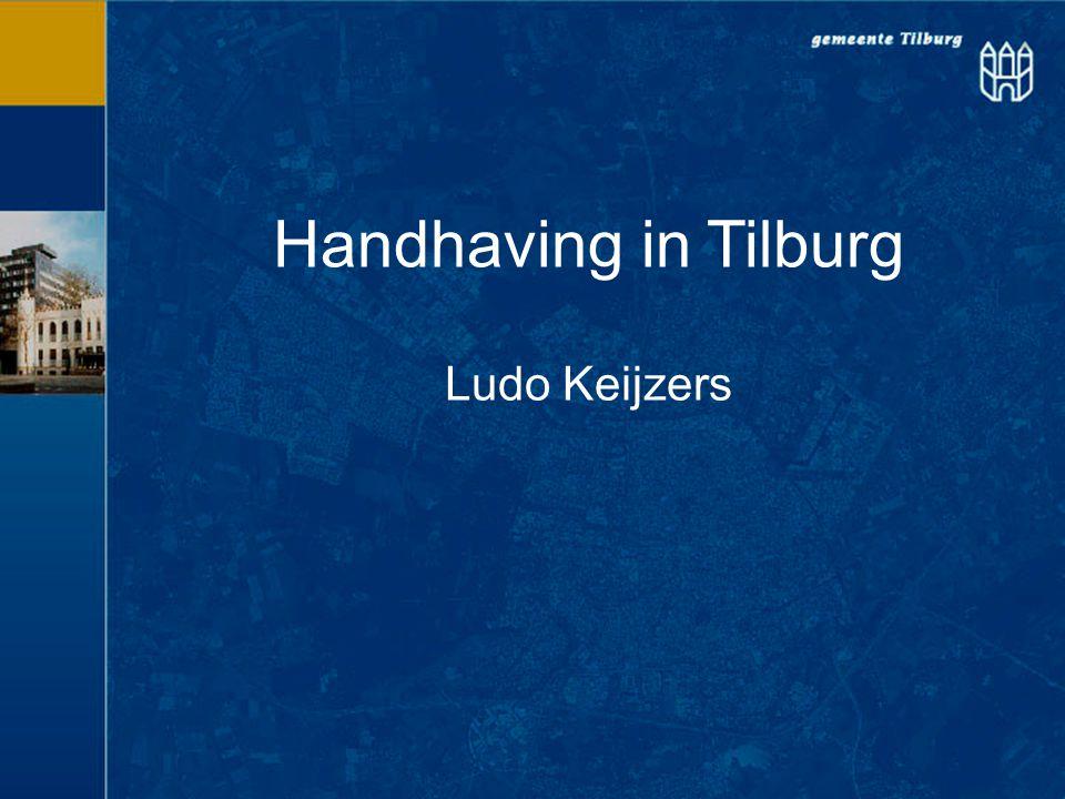 Handhaving in Tilburg Ludo Keijzers