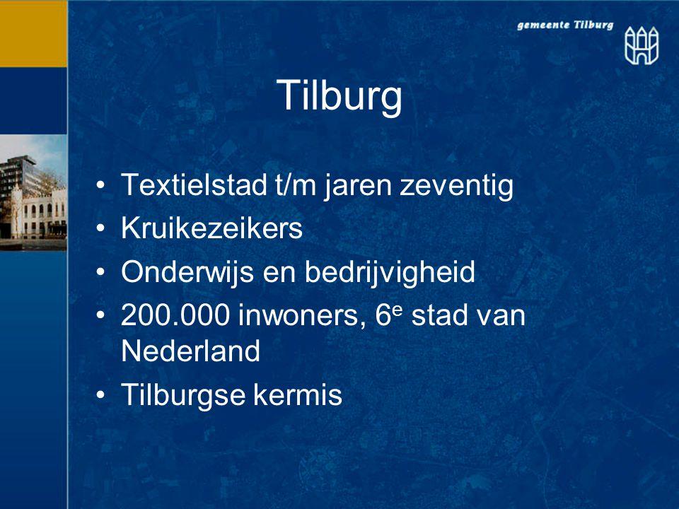Tilburg Textielstad t/m jaren zeventig Kruikezeikers