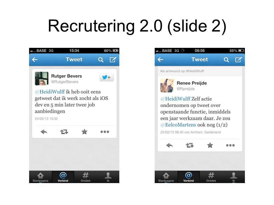 Recrutering 2.0 (slide 2)