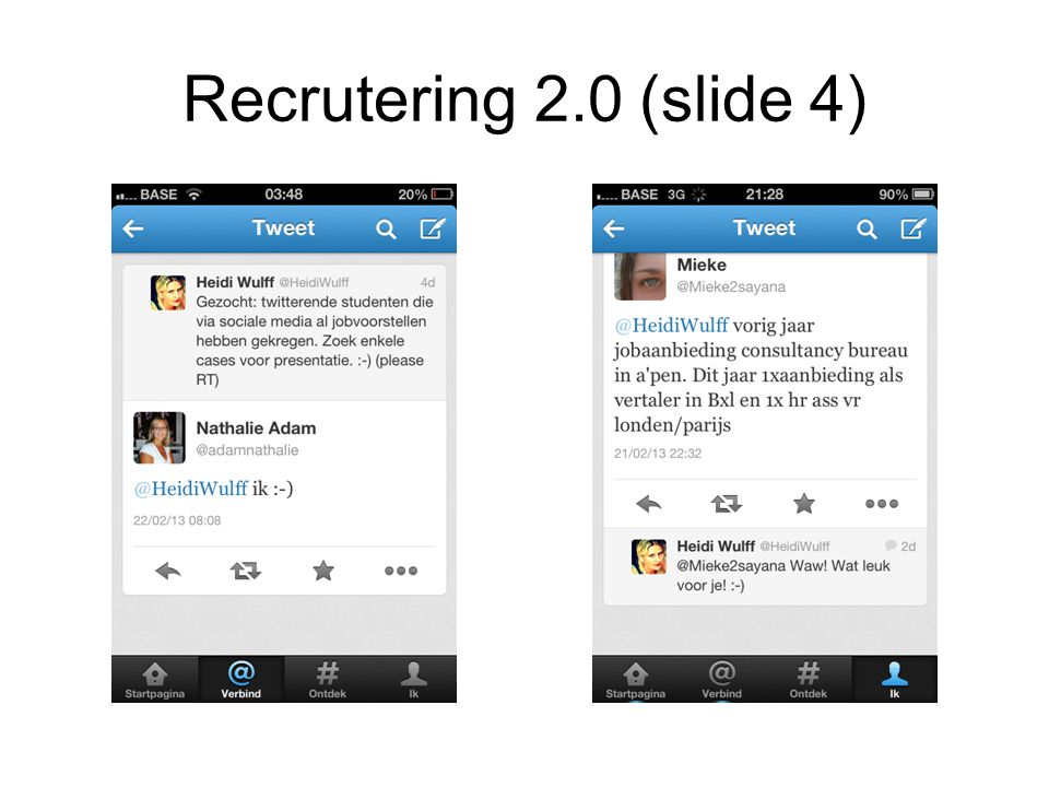 Recrutering 2.0 (slide 4)
